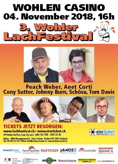 Plakat Lachfestival 2018